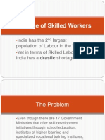Shortage of Skilled Workers