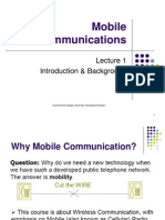 Lec1 Mobile Communication