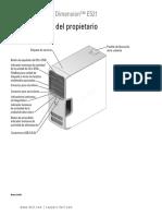 Dimension-e521 Owner's Manual Es-mx