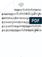 Kirchhoff - Rigoudon (Flute)