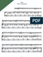 Kohler - Valse Allemande (Piano)