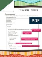 Thinning - PCD
