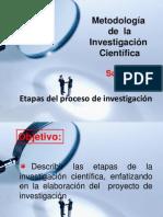 Tema 3 Etapas de la investigación científica