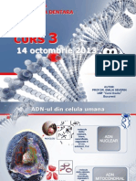 Genetica CURS 3 14 Octombrie 2013