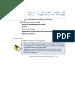Procesual Penal Sem I Unitatea III