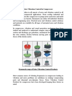 Noise Vibration Control in Compressors