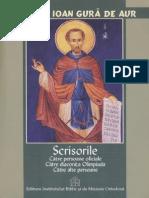 Sf Ioan Gura de Aur_Scrisori