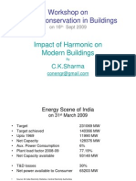 Impact of Harmonics on Modern Buildings