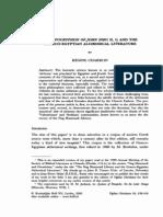 Charron, Régin -- The Apocryphon of John (NHC II, I) and the Graeco-Egyptian alchemical literature
