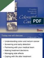 Colorectal Cancer Wellness Talk Dr. EdwardChu