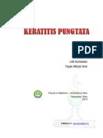 Belibis A17 Keratitis Pungtata