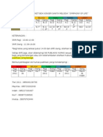 Jadwal Shift Jaga Tiket Box Psm