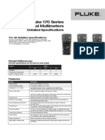 Fluke 170 Series True-Rms Digital Multimeters