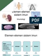 Elemen-Elemen Sistem Imun