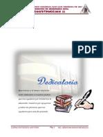 Informe de Obra La Angostura-Ica