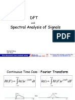 DFT and Spectral Analysis of Signals
