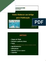 Como+elaborar+Artigo+publicação