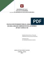 Cálculo de estanques para el almacenamiento de agua. Comparación de normativas.pdf