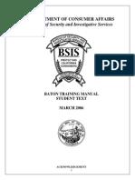 Baton Training Manual