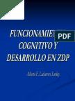 Funcionamiento Cognitivo y Desarrollo Zdp