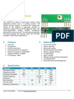 433 MHz RF Receiver STR-433 1. Overview