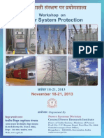 Workshop on Power System Protection
