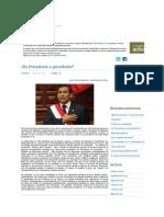 ¿Es Presidente o presidente_ - Castellano Actual _ Blogs _ Peru21