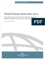 Global Climate Risk Index 2014