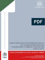 Cacarterizacion Sociocriminologica de Abusadores Sexuales