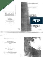 Uso Del Subjuntivo en Universitarios Bilingues y Monolinges Del Pv y Cantabria