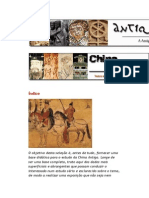 A Antiguidade Tardia em Textos - O Pensamento Chinês - André Bueno