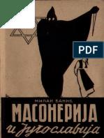 Milan Banić Masonerija i Jugoslavija
