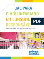 Manual Voluntariado Em Consumo Responsavel