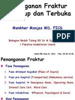 KP 18.23 Penanganan Fraktur Tertutup Dan Terbuka - 2008