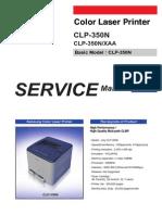 Clp350n Manual de Servicio