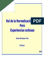 Normalizacion PERU