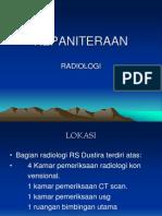 KEPANITERAAN radiologi
