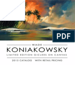 Koniakowsky Tropical Catalog