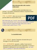 Storia Della Timpanoplastica