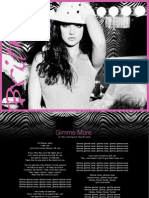 Digital Booklet - Gimme More - Single (AUS)