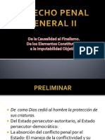Derecho Penal General II