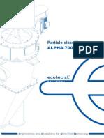 ALPHA700 Manual