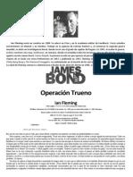 Fleming Ian  - James Bond 09 -  Operación Trueno
