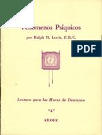 Lewis Ralph - Fenomenos-Siquicos