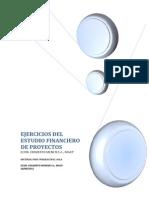 Ejercicios Del Estudio Financiero de Proyectos 2012 v2