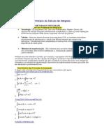Princípio do Cálculo de Integrai1