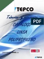 Catálogo linea Polipropileno (tuberia y accesorios)