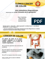 Caso Clinico Cancer de Colon