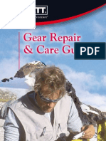 English Outdoor Gear Repair & Care Guide.