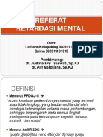 Slide Referat Retardasi Mental Selma-Aan